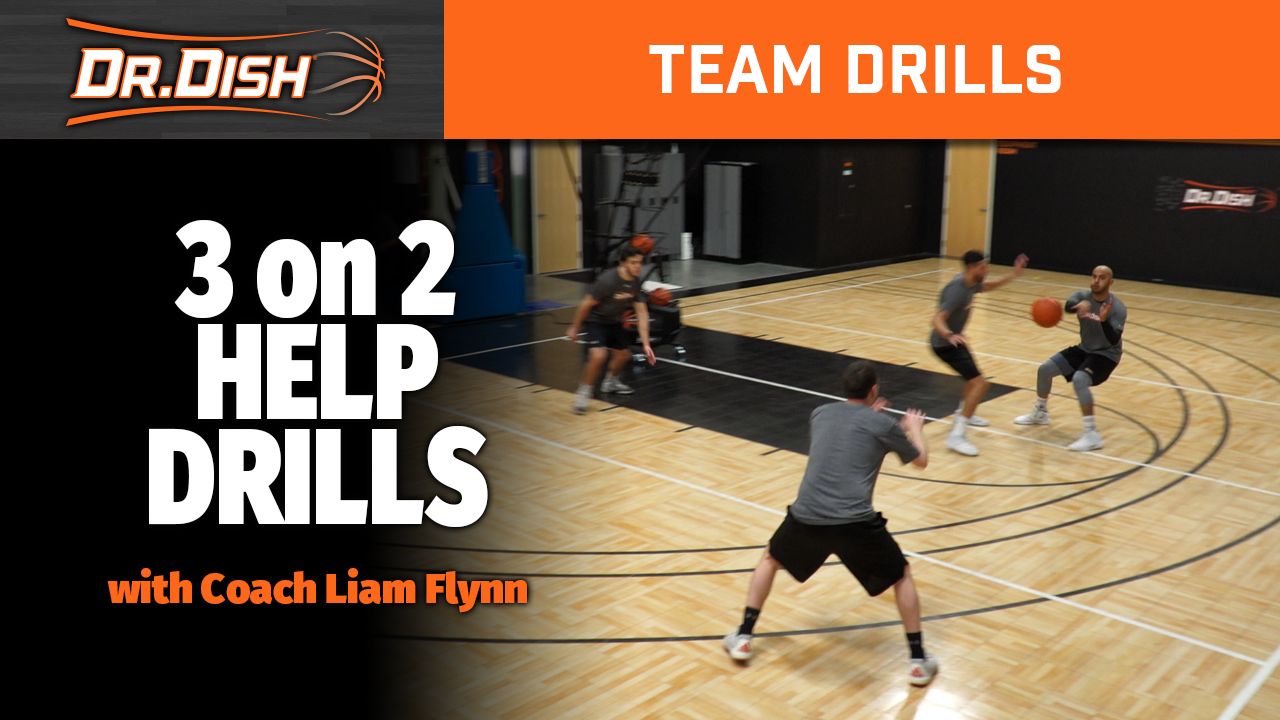 Team Drills: Drive Kick Clear Concepts (Part 3) - 3 vs. 2 - with Liam Flynn