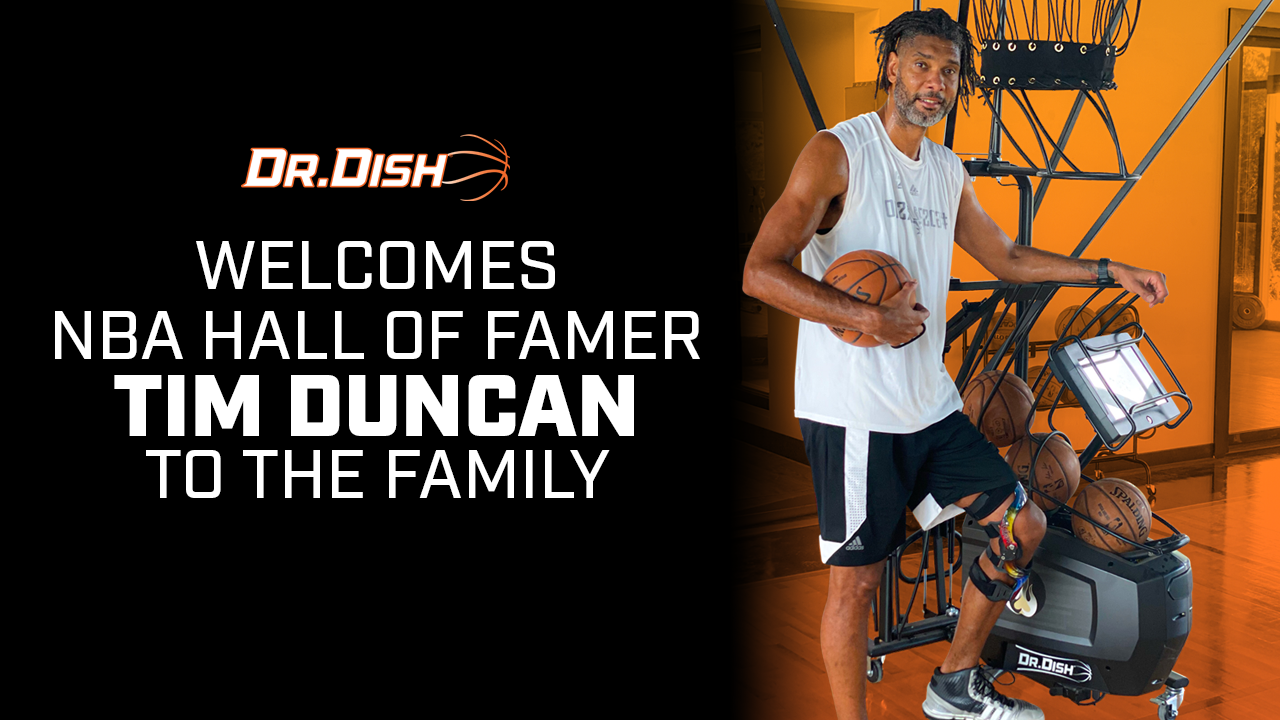 NBA Hall of Famer Tim Duncan Joins the Dr. Dish Family