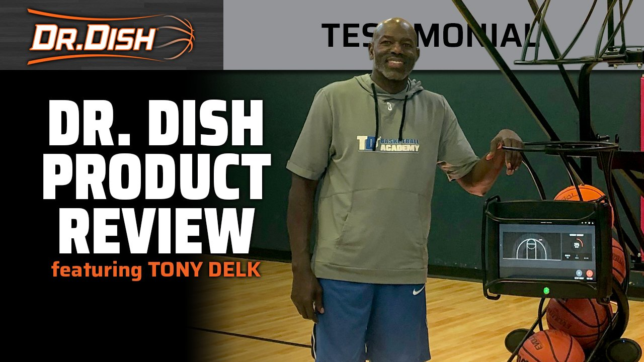 Why Tony Delk Loves His Dr. Dish CT Shooting Machine