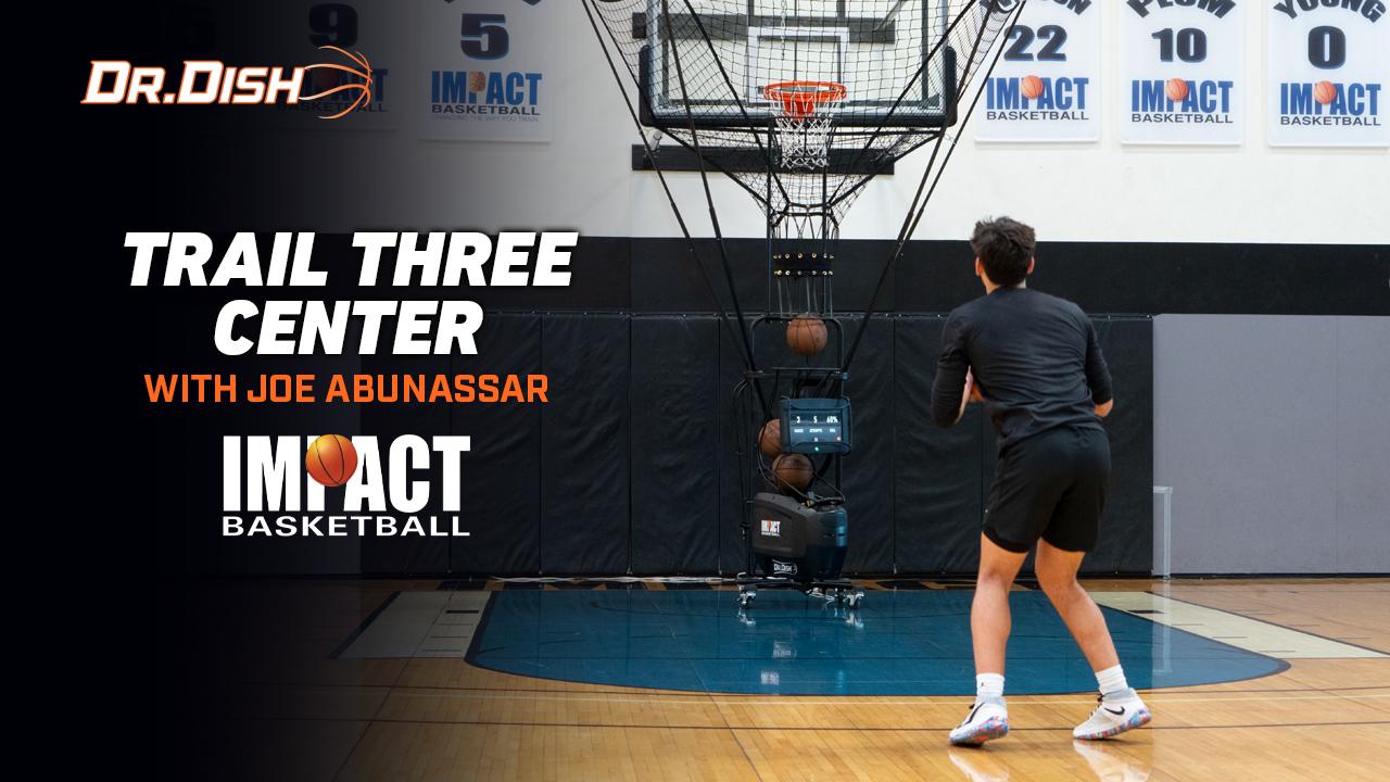 Basketball Drills: Trail Three Center with Joe Abunassar