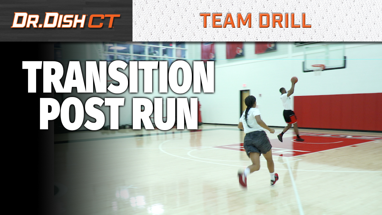 Louisville Full Court Drill: Transition Post Run