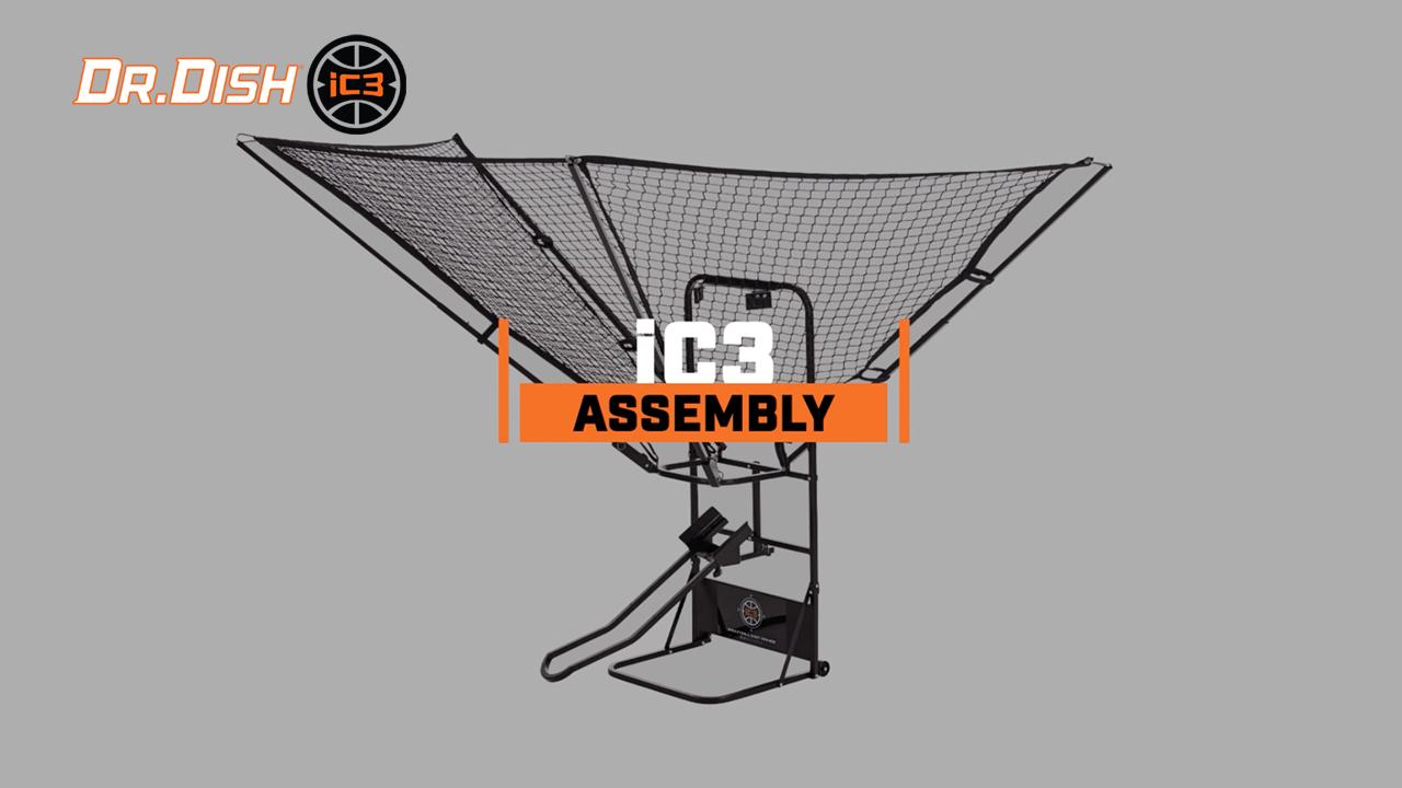 Dr. Dish iC3 Shot Trainer Set Up and Assembly Tutorial
