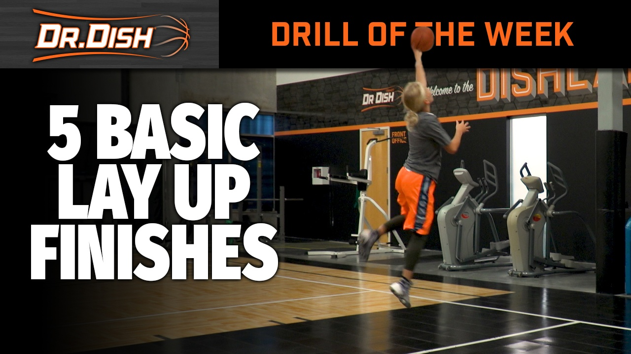 Youth Basketball: Back to The Basics > 5 Layup Finishes