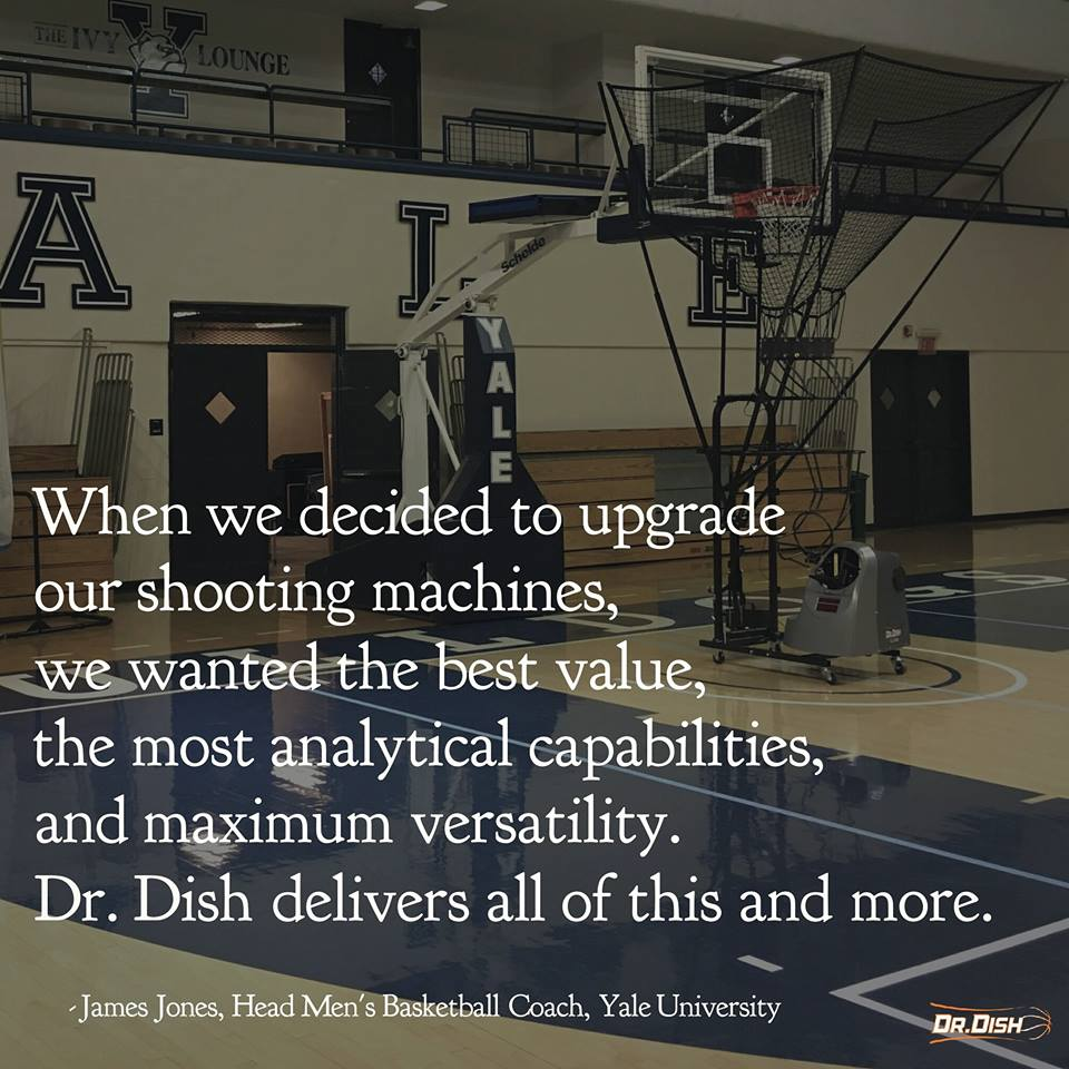 How Yale Basketball is Innovating with Dr. Dish