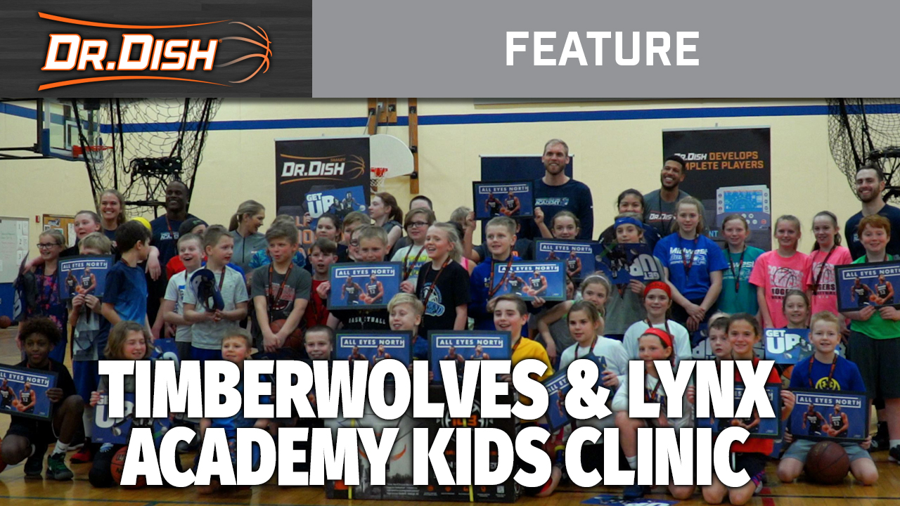 Dr. Dish Partners with Timberwolves and Lynx Academy for Presidents Day Clinic