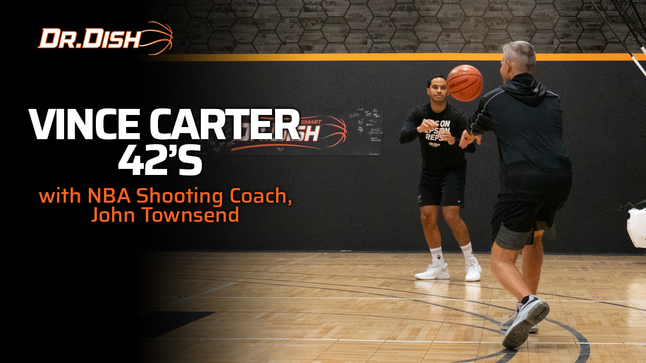 Vince Carter Shooting Drill: 42s with NBA Shooting Coach John Townsend