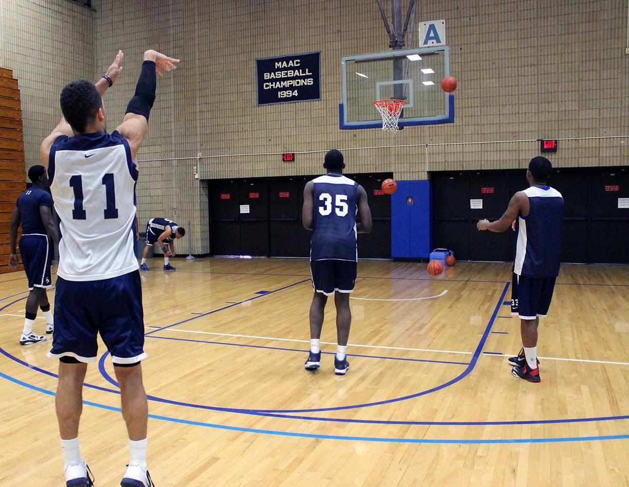 Basketball Shooting Practice