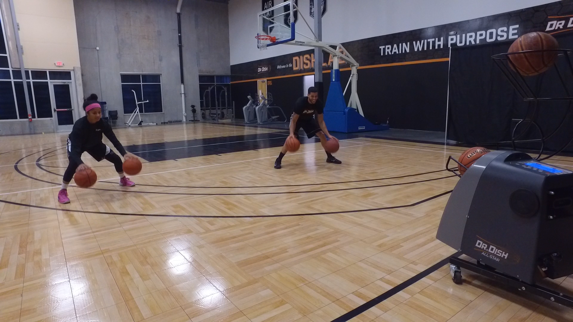 Basketball Drills: 30 Minute Partner Workout on Dr. Dish