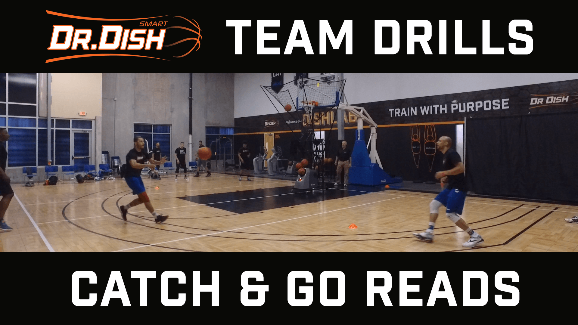 Team Shooting Drills: Catch & Go Reads with Coach Ed Andrist