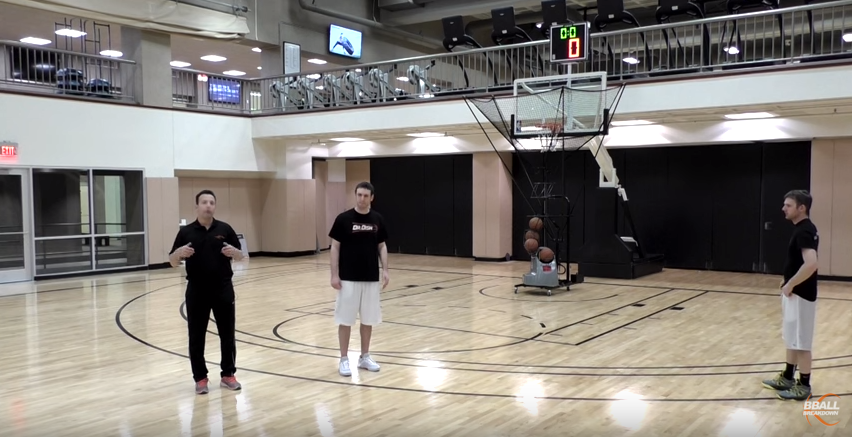 Basketball Shooting Drills: The Flare Screen with Dr. Dish