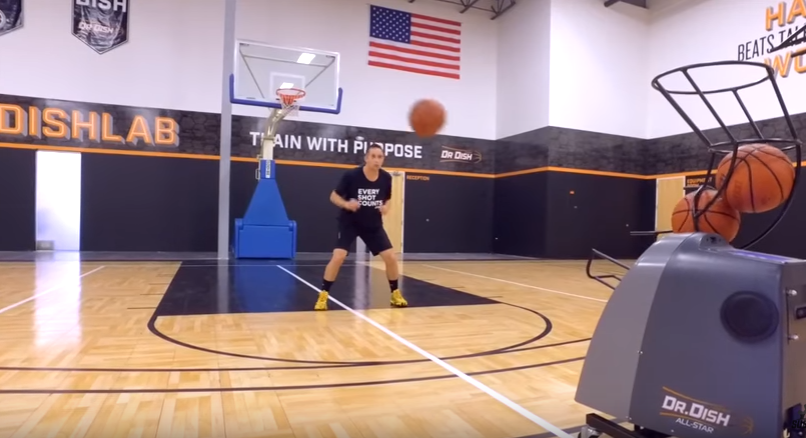 Basketball Shooting Drills: Kyrie Irving Reaction Drills with Coach Collin