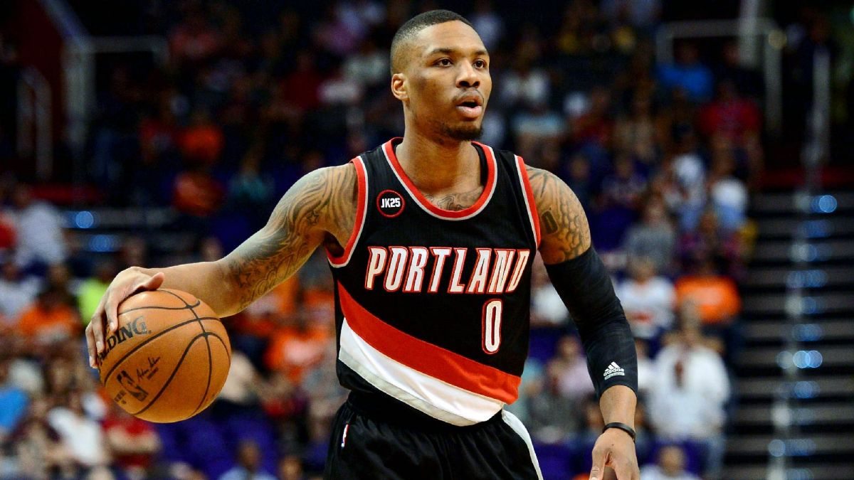 Basketball Drills: Damian Lillard Streak Shooting