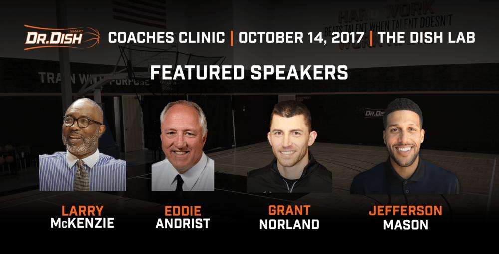 Dr. Dish Coaches Clinic Recap
