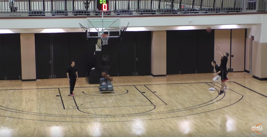 Basketball Shooting Drills: Dribble Drive Motion Offense