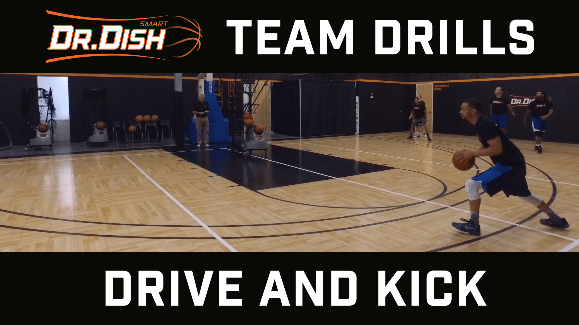Team Drive and Kick Shooting Drills with Coach Ed Andrist