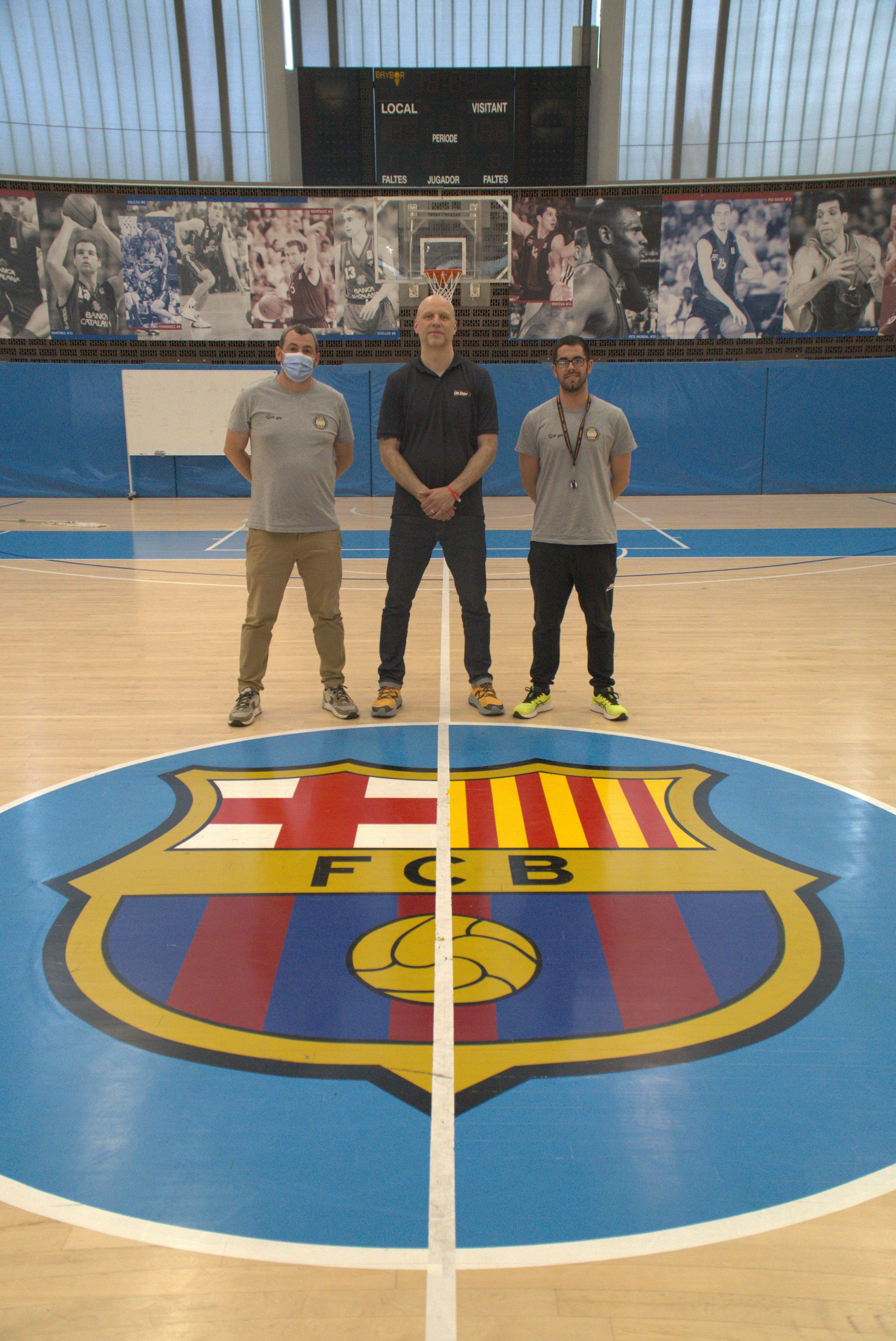 Top EuroLeague Teams Train with Dr. Dish