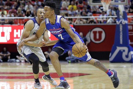 Basketball Drills: Markelle Fultz Body to Body Step-Backs