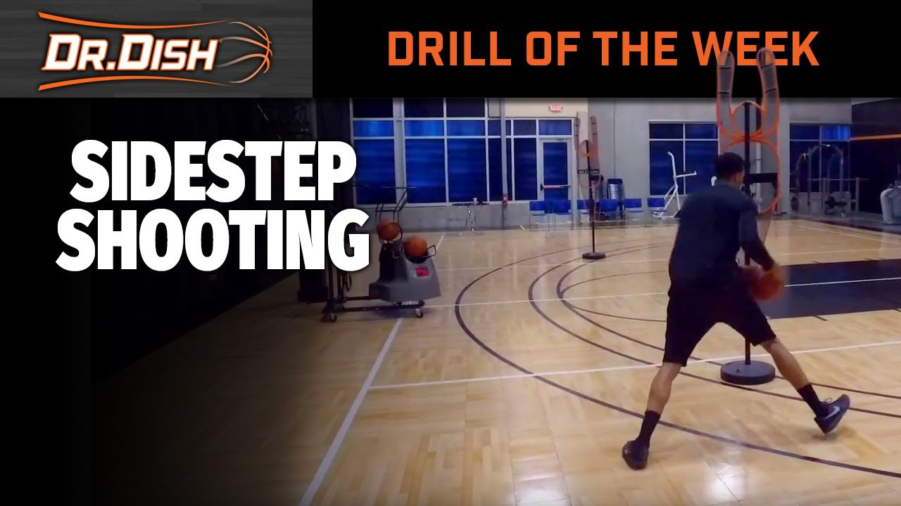 Basketball Drills: Side Step Jumper Using the Pull-Back
