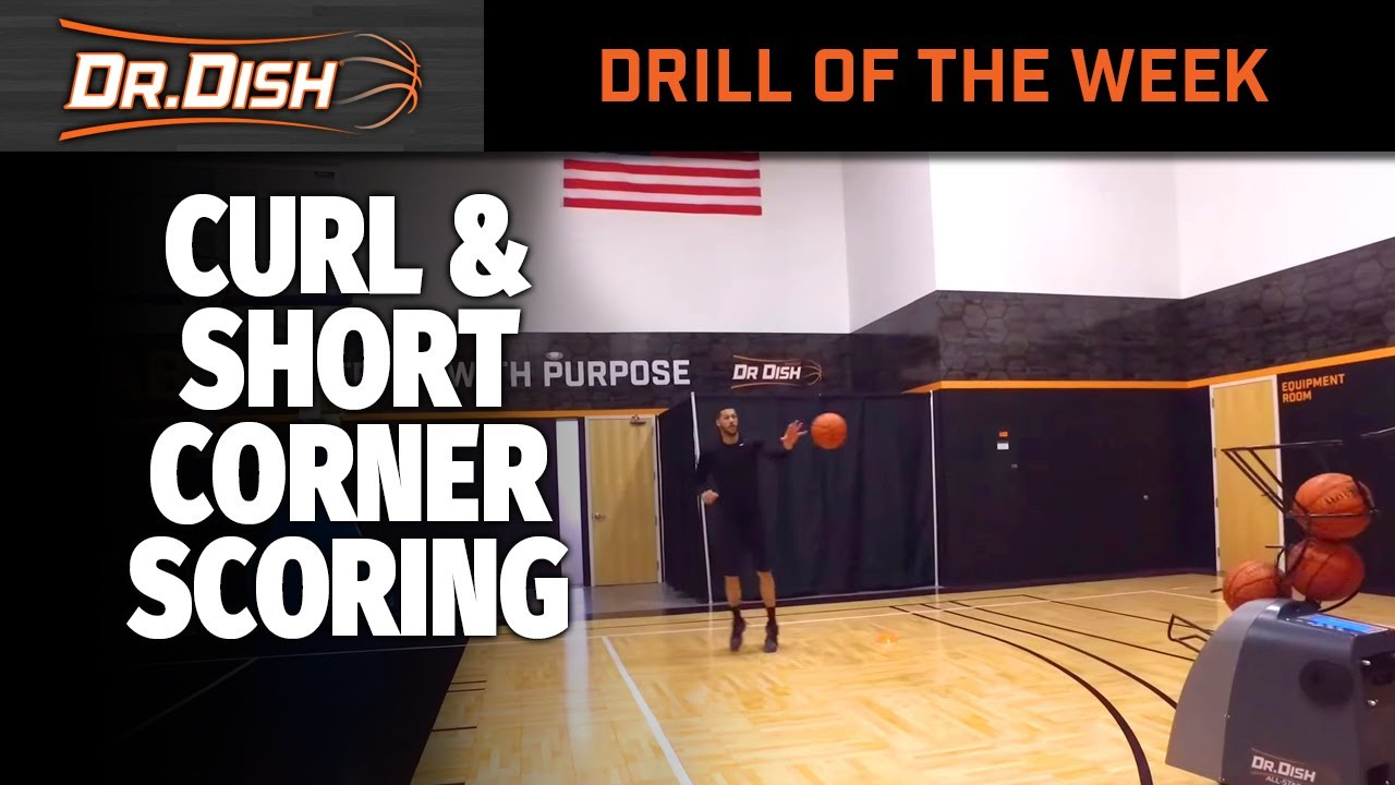 Basketball Drills: Wing Area and Curl Scoring Options