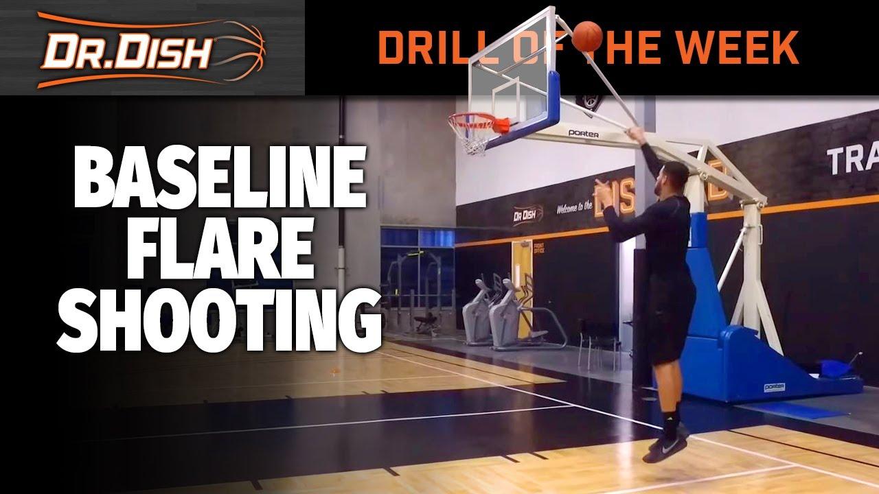 Basketball Drills: Baseline Flare Shooting with Dr. Dish