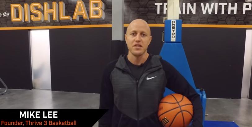 Basketball Shooting Drills: Drive and Kick with Mike Lee