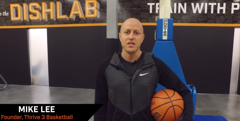 Basketball Drills: Mike Lee Baseline Drives with Dr. Dish