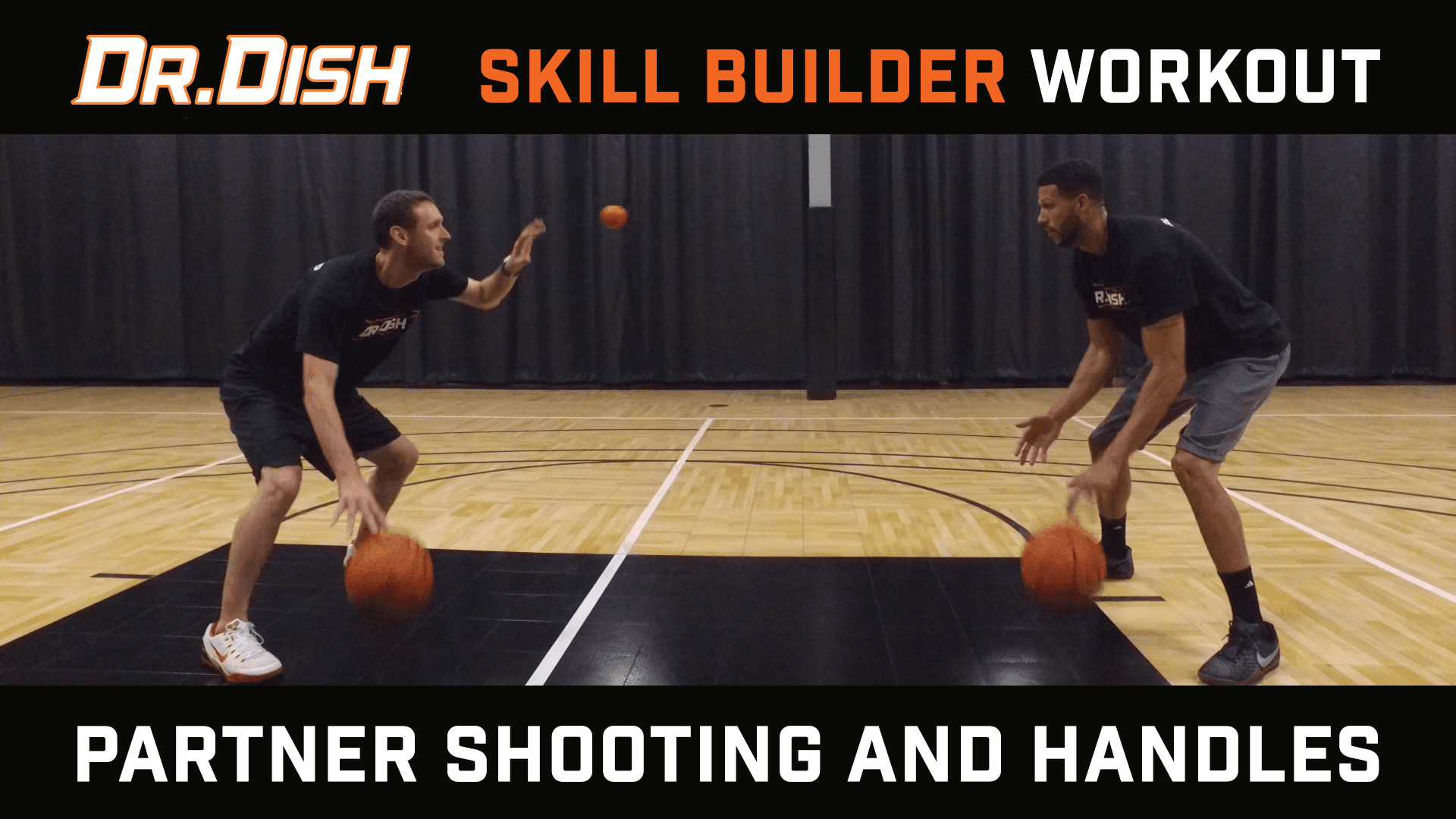 Basketball Drills: Partner Shooting and Handles