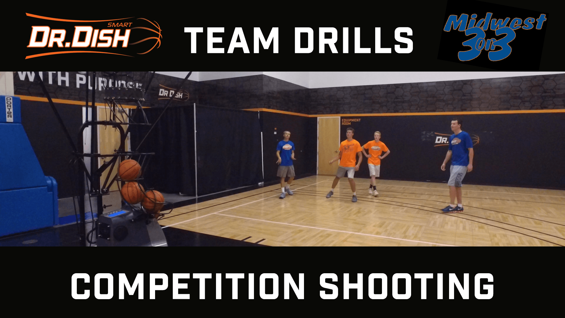 Basketball Shooting Drills: Competition Shooting With Midwest 3 on 3