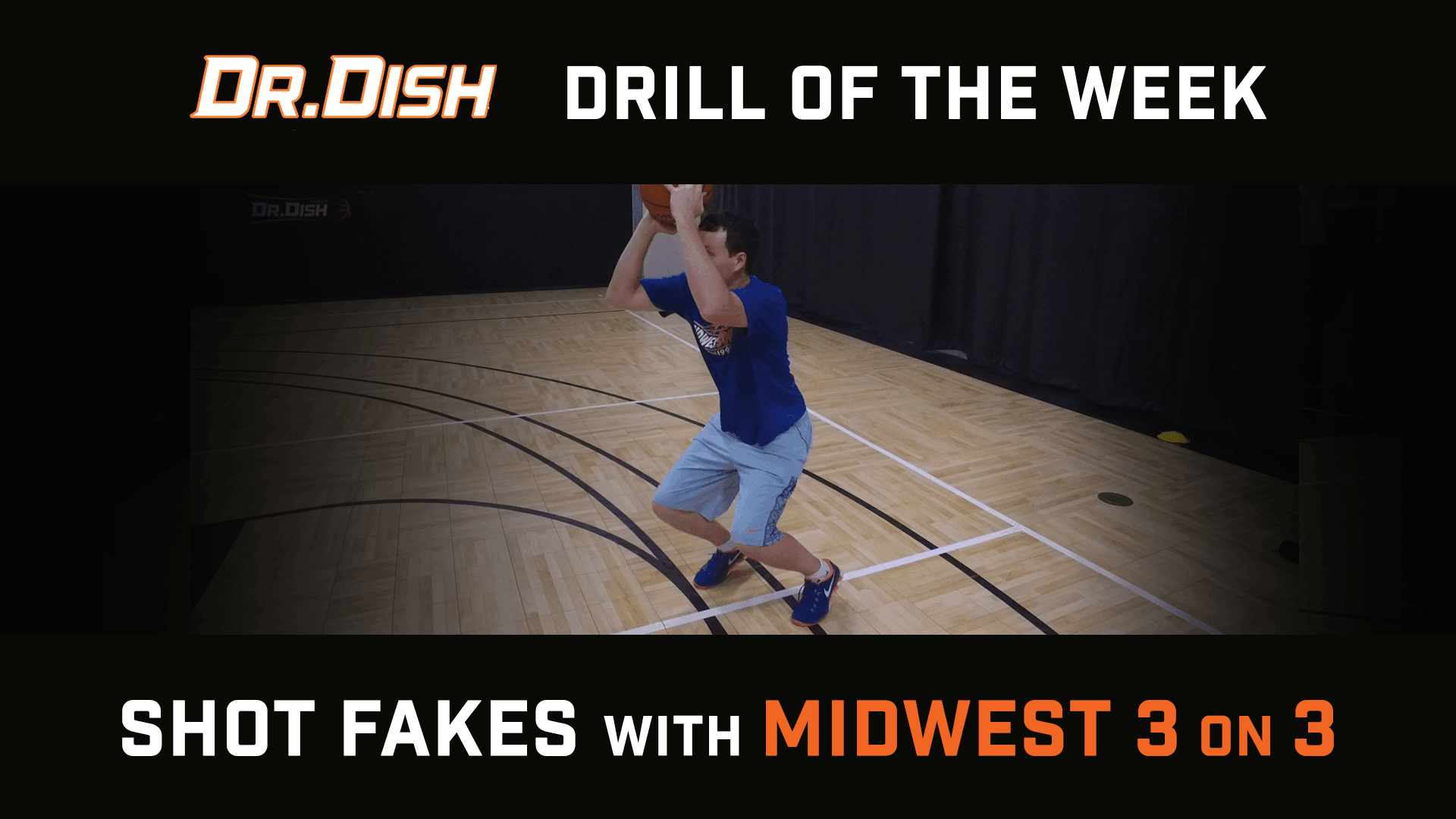 Basketball Drills: Utilizing the Shot Fake with Midwest 3 on 3