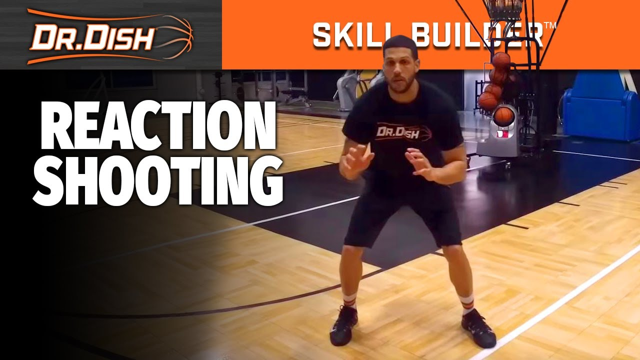 Dr. Dish Skill Builder: Reaction Shooting Workout