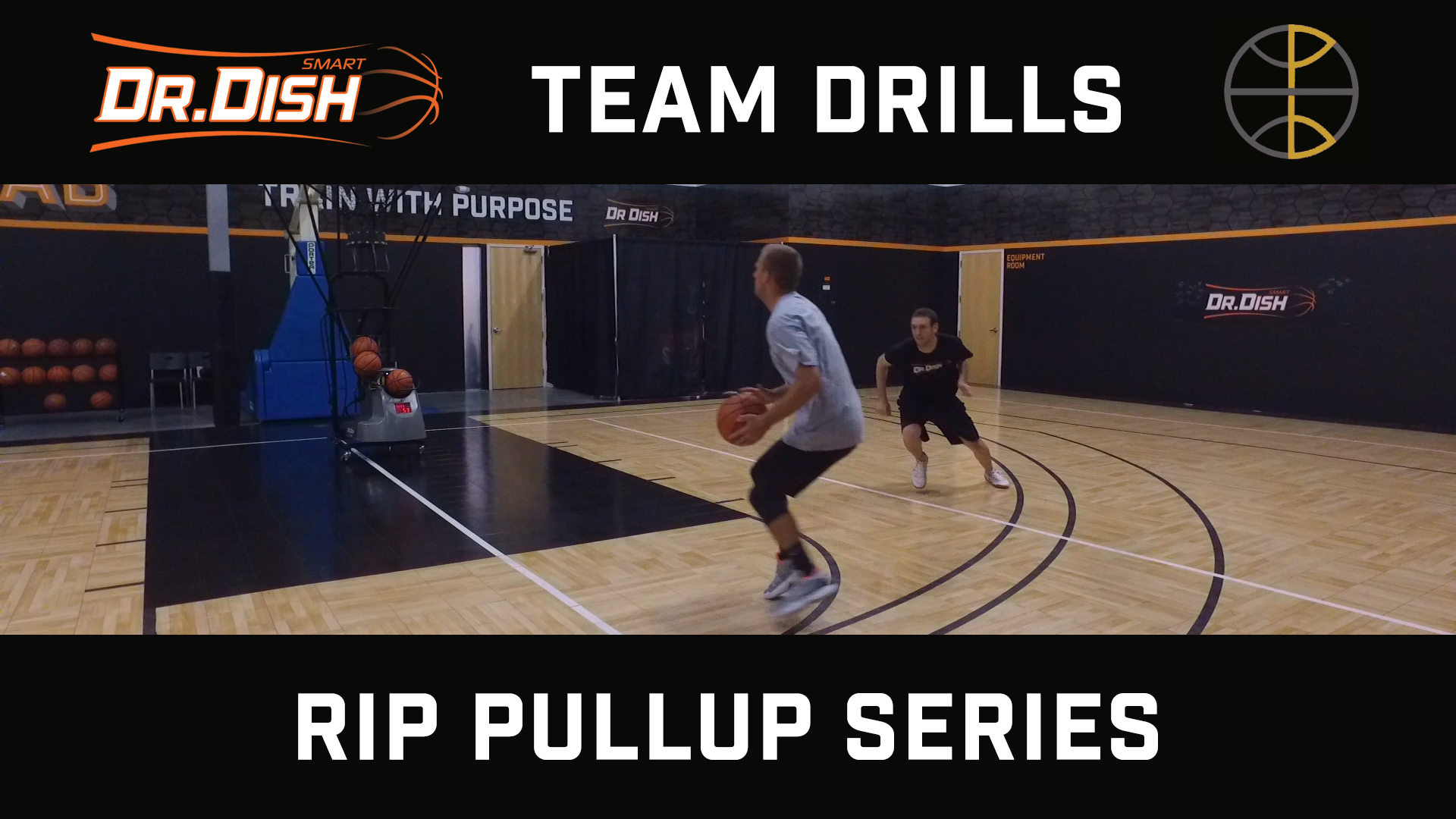 Basketball Drills: Rip Pull Up Series with Positionless Basketball