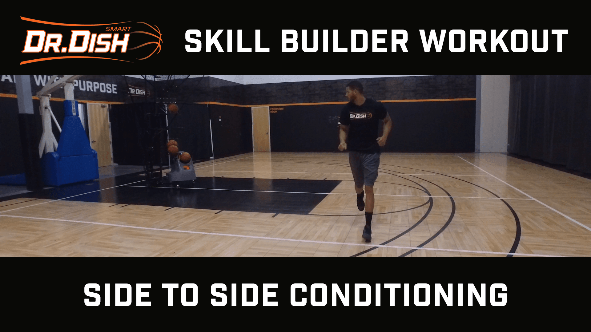 Basketball Drills: Sideline to Sideline Shooting Workout