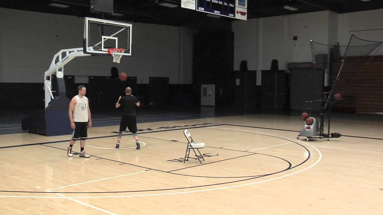 Basketball Drills: Game-Like Post and Pop Shooting