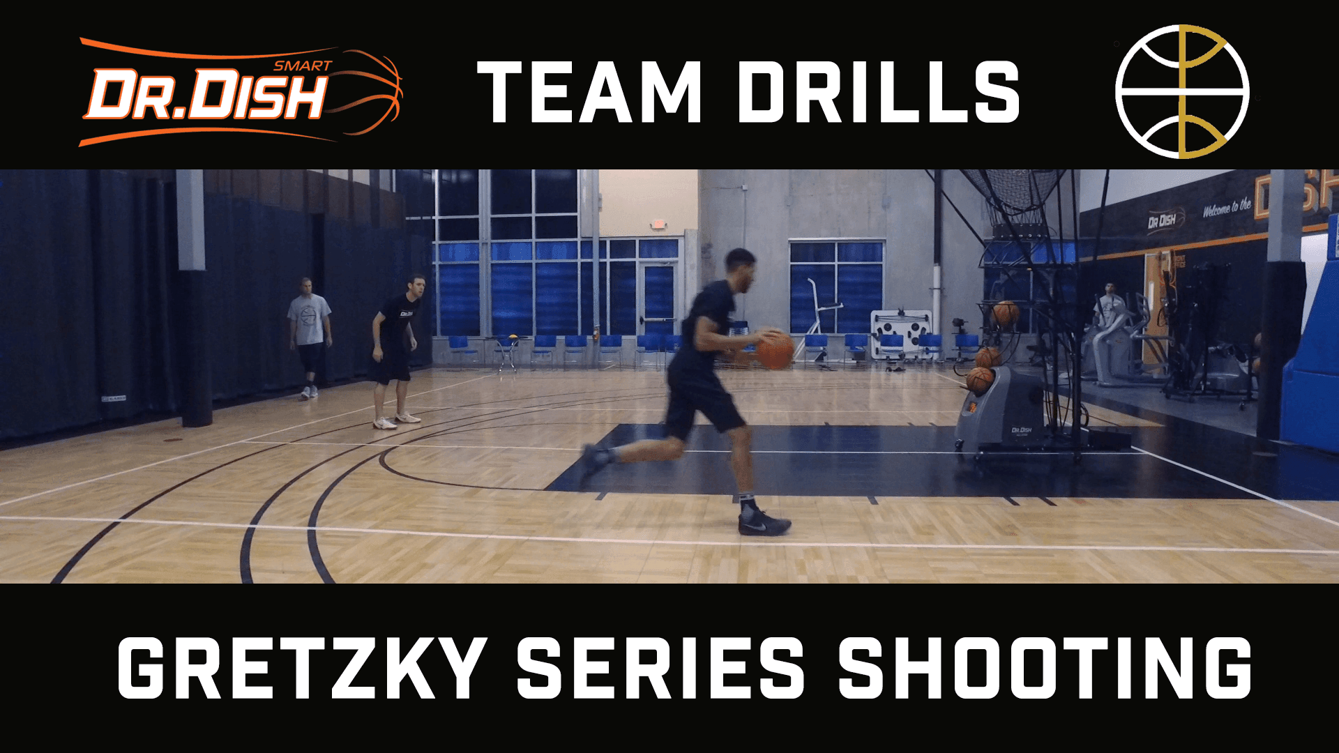 Basketball Drills: Gretzky Series with Positionless Basketball