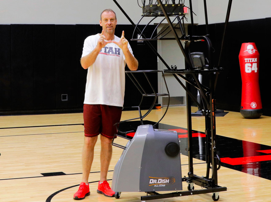 Why the University of Utah Basketball Upgraded to Dr. Dish