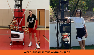 Dr. Dish Fam Members Skylar Diggins-Smith and Allie Quigley Meet in WNBA finals